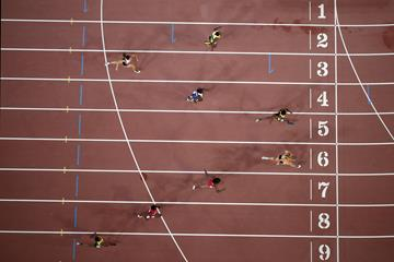 Dafne Schippers wins the 200m at the IAAF World Championships (Getty Images)