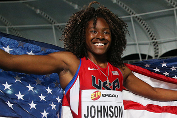 US 400m hurdler Brandee Johnson (Getty Images)