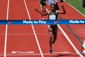 Impressive 5000m win for Genzebe Dibaba in Eugene (Victah Sailer)