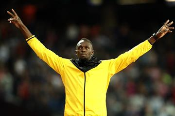 Usain Bolt at the IAAF World Championships London 2017 (Getty Images)