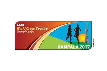 IAAF World Cross Country Championships Kampala 2017 logo (IAAF)