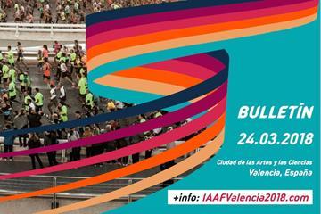 IAAF World Half Marathon Championships Valencia 2018 official bulletin (LOC)