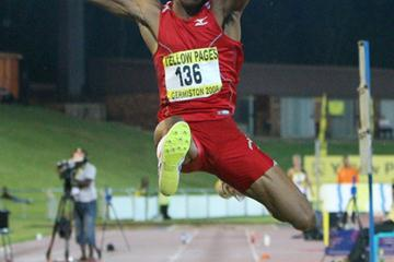 Godfrey Mokoena opens with an 8.15m leap in Pochefstroom (organisers)