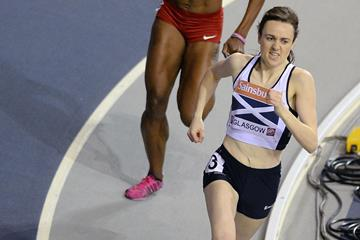 Laura Muir in action in the 800m (Getty Images)