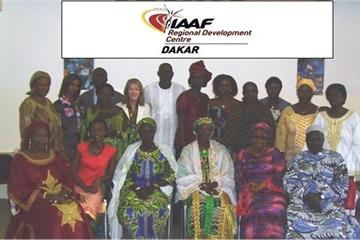 Participants of the Women Seminar at RDC Dakar (IAAF)