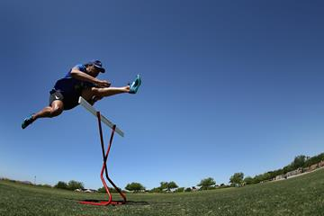US sprint hurdler Aries Merritt (Getty Images)