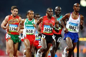 Moses Kipsiro of Uganda in action in Beijing (Getty Images)