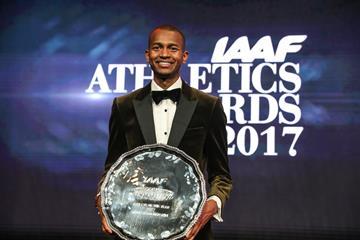 Mutaz Barshim, 2017 IAAF World Athlete of the Year (Philippe Fitte)