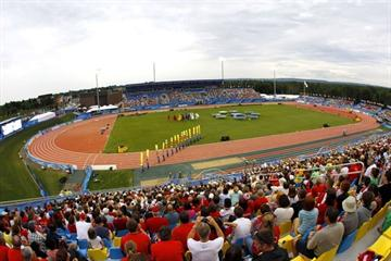 A generel view of the Stade de Moncton 2010 (Getty Images)