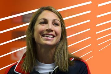 US distance runner Sara Hall (Getty Images)