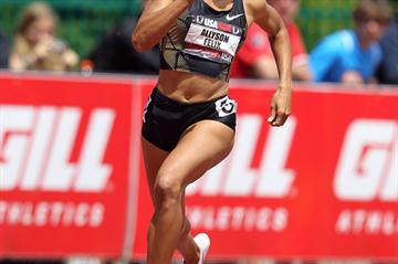 Allyson Felix adds a national 400m title to her collection (Getty Images)