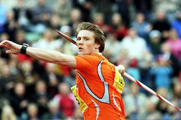 Olympic champion Andreas Thorkildsen -  91.59m - in Oslo 2006 (Getty Images)