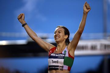 Steph Twell wins the European 10,000m Cup in London (Getty Images)