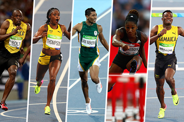 2016 World Athlete of the Year Longlist Nominees - Sprints and Hurdles (IAAF)