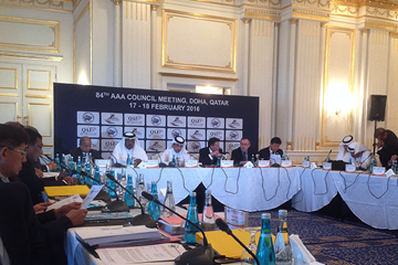 The AAA Council Meeting in Doha (IAAF)