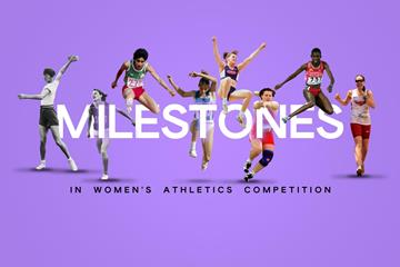 Milestones in women's athletics competition (Getty Images)