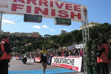 Moroccan Tarik Marhnaoui wins the inaugural Monaco Run (IAAF.org)