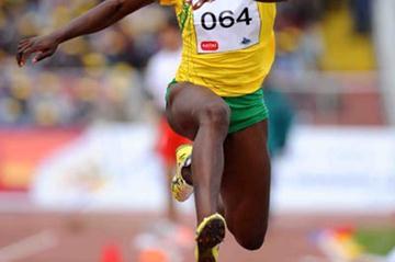 Francoise Mbango returns to action with world leader in Addis Ababa (Jiro Mochizuki (Agence shot))