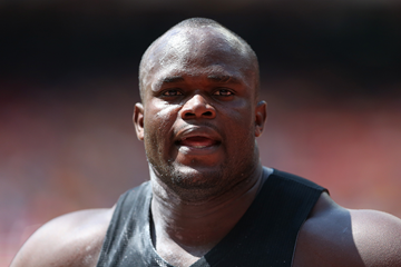 Congolese shot putter Franck Elemba (Getty Images)