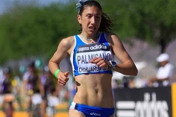 Anotnella Palmisano of Italy in action in Chihuahua (Getty Images)