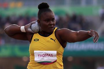 Danniel Thomas-Dodd at the Pan-American Games in Lima (Getty Images)