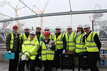 IAAF technical delegates at the London Olympic Stadium (Point Four One)