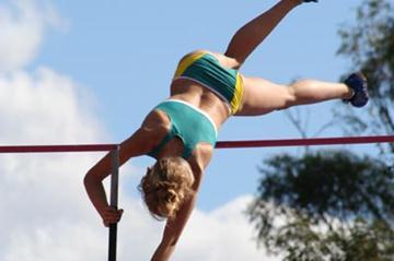 Vicky Parnov of Australia - World Youth Team (Athletics Australia)