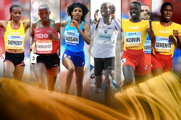 2018 World Athlete of the Year nominees - middle and long distance (Getty Images)