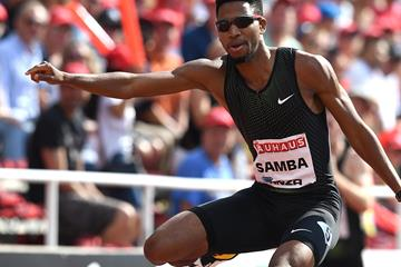 Another Asian record for Abderrahman Samba, this time in Stockholm (Giancarlo Colombo)