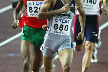 Sajad Moradi at the 2007 World Championships in Osaka (Getty Images)