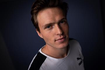 World 400m hurdles champion Karsten Warholm (Dan Vernon)