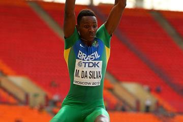 Mauro Vinicius da Silva at the 2013 IAAF World Championships (Getty Images)