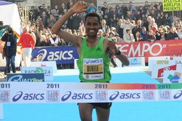 Berga Bekele takes a convincing victory in Florence (Organisers)