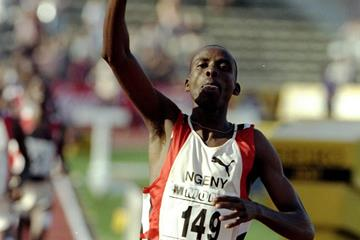 Kenyan middle-distance runner Noah Ngeny (Getty Images)