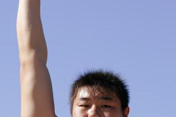 Fan Wei of China at the Australian youth festival (Getty Images)