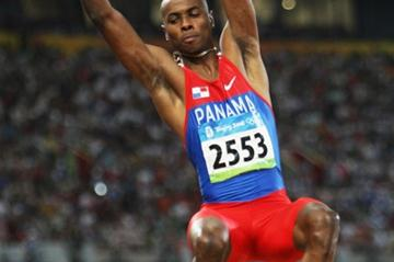 Irving Saladino at the 2008 Olympic Games in Beijing (Getty Images)