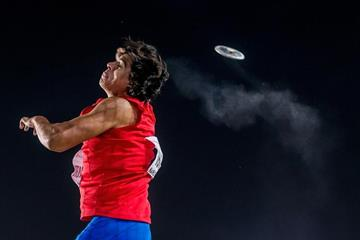 Claudio Romero in the discus at the IAAF World U18 Championships Nairobi 2017 (Getty Images)