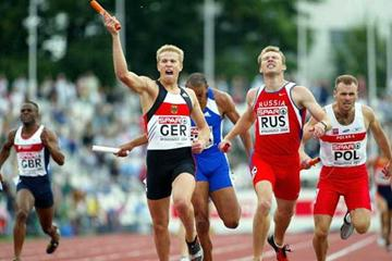 Germany take men's 4x400m relay and European Cup (Getty Images)