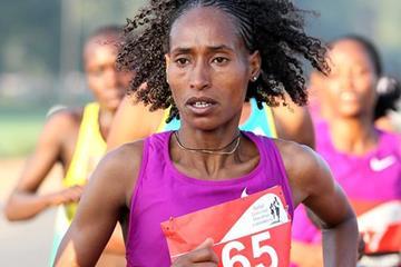 Ethiopian distance runner Mestawet Tufa (Victah Sailer)