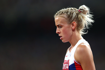 British 800m runner Lynsey Sharp at the IAAF World Championships Beijing 2015 (Getty Images)