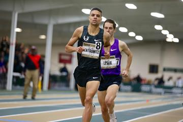 Matt Centrowitz in the 2016 Camel City Invitational mile ( John Nepolitan (dyestat.com))