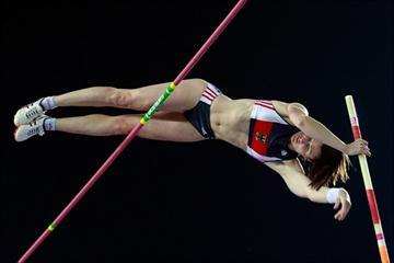 Carolin Hingst at the 2010 Colorful Daegu Pre-Championships Meeting (Getty Images)