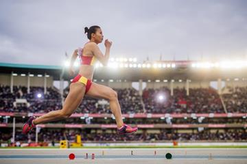 China's Tan Qiujiao at the IAAF World U18 Championships Nairobi 2017 (Getty Images)