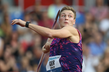 Thomas Rohler, winner of the javelin in Ostrava (AFP / Getty Images)