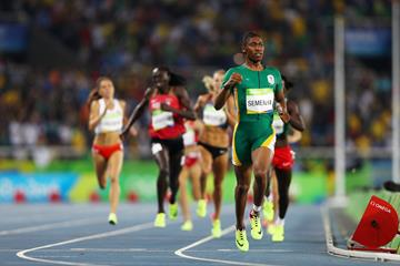Caster Semenya wins the 800m at the Rio 2016 Olympic Games (Getty Images)