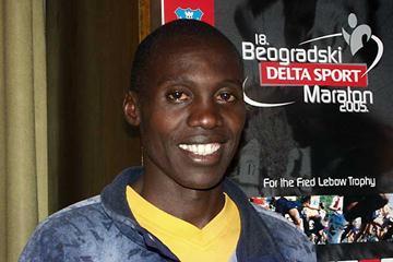 Isaac Kiprono of Kenya in Belgrade (lfipa)