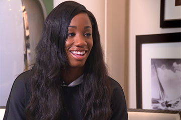 Kendra Harrison on IAAF Inside Athletics (IAAF)