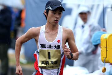 Japanese race walker Eiki Takahashi (AFP / Getty Images)