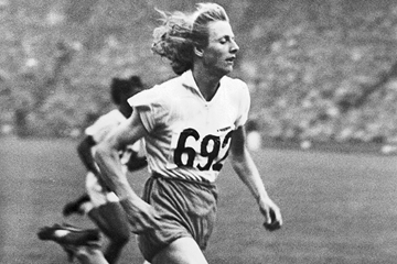 Fanny Blankers-Koen in the 200m at the 1948 Olympic Games in London (Getty Images)