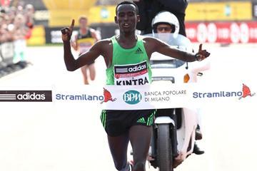 Ethiopian marathon runner Yakob Jarso (Giancarlo Colombo)
